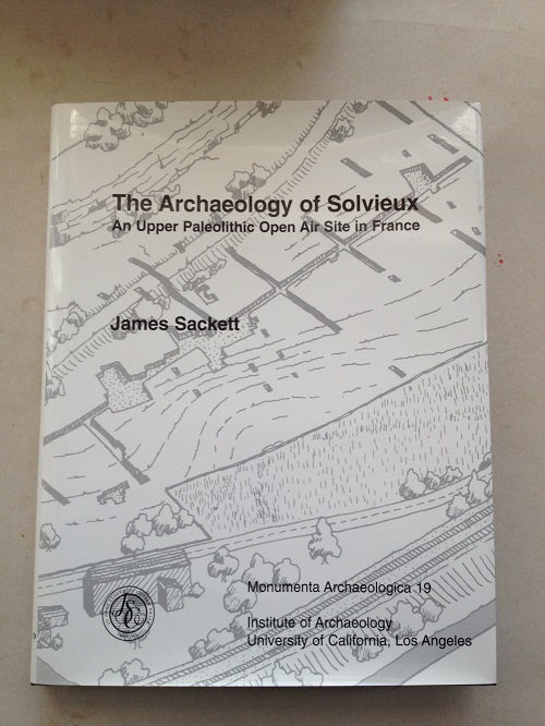 Image for The Archaeology of Solvieux :An Upper Palaeolithic Open Air Site in France
