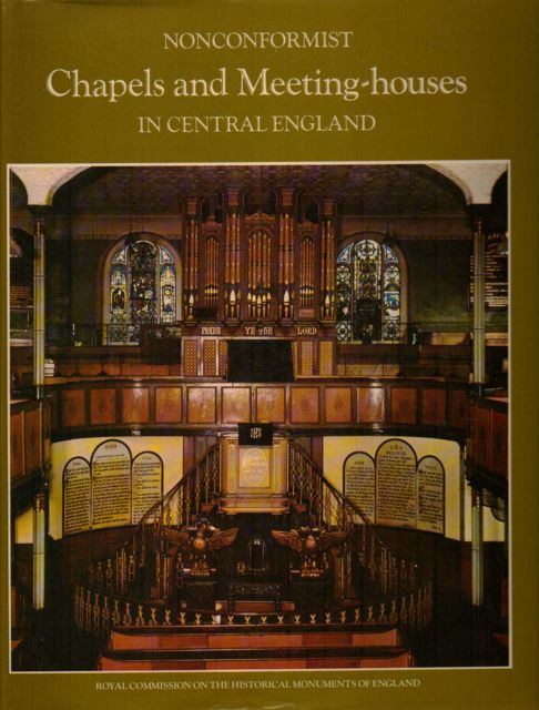 Image for AN INVENTORY OF NONCONFORMIST CHAPELS AND MEETING HOUSES IN CENTRAL ENGLAND :