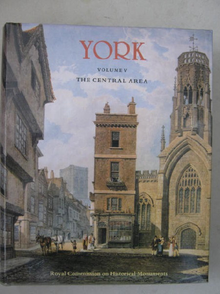 Image for City of York Vol. V :The Central Area