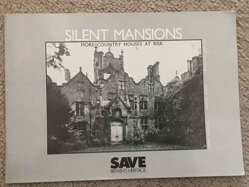 Image for SILENT MANSIONS :More Country Houses at Risk