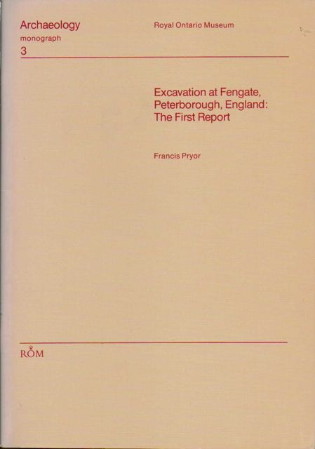 Image for Excavation at Fengate, Peterborough, England :The First Report