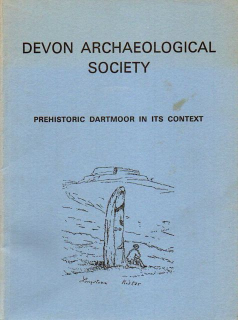 Image for PREHISTORIC DARTMOOR IN ITS CONTEXT, :