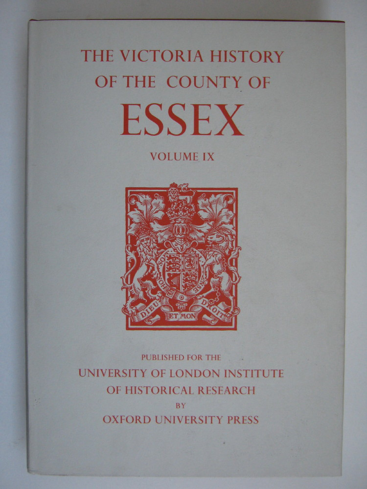 Image for A HISTORY OF THE COUNTY OF ESSEX, VOLUME IX: The Borough of Colchester  :