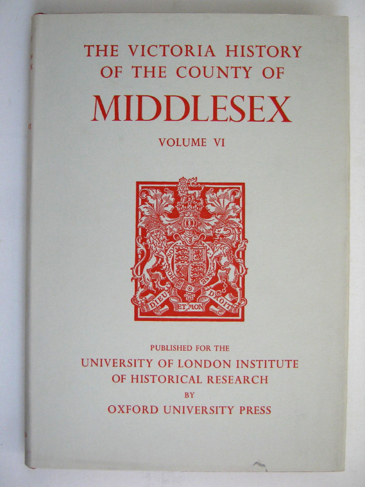 Image for A HISTORY OF MIDDLESEX, VOLUME VI (Victoria County History),