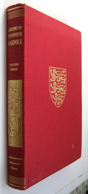 Image for THE VICTORIA HISTORY OF THE COUNTY OF WARWICK, VOLUME THREE: Barlichway Hundred,