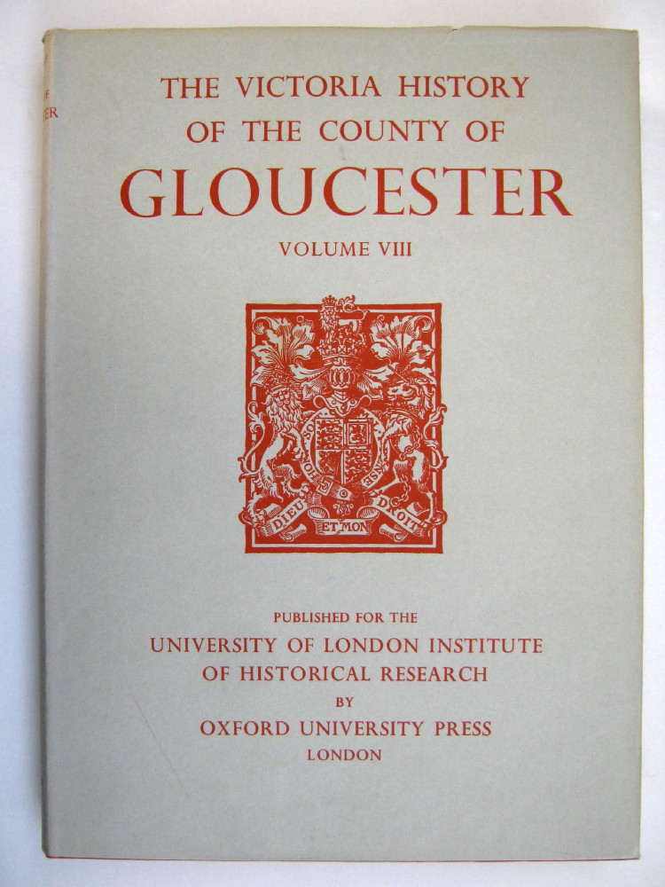 Image for A HISTORY OF THE COUNTY OF GLOUCESTER, VOLUME VIII (Victoria County History),