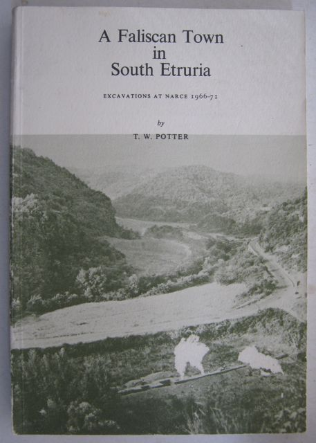 Image for A Faliscan Town in South Etruria:  :Excavations at Narce 1966-71