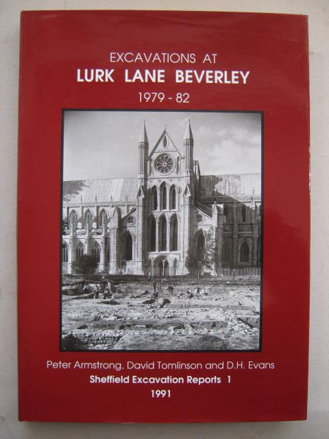 Image for Excavations at Lurk Lane Beverley, 1979-82 :