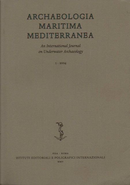 Image for ARCHAEOLOGIA MARITIMA MEDITERRANEA 1: An International Journal on Underwater Archaeology :