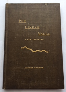 Image for PER LINEAM VALLI: a new argument touching the earthen rampart between Tyne and Solway, :