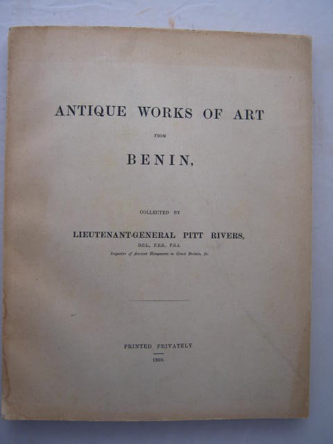 Image for Antique works of art from Benin :