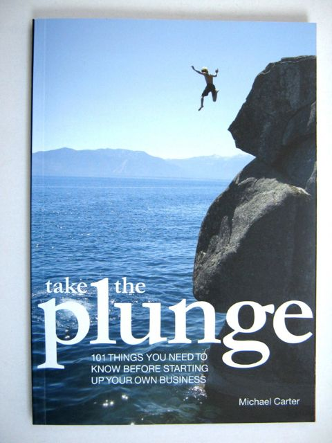 Image for Take the plunge: 101 things you need to know before starting up your own business :