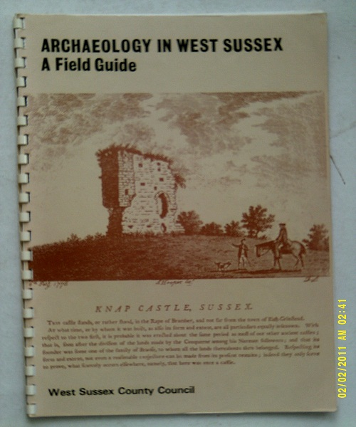 Image for Archaeology in West Sussex, a field guide  :