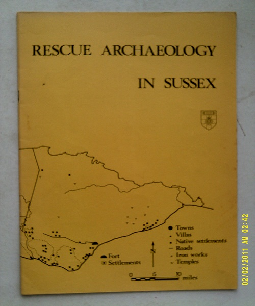 Image for Rescue archaeology in sussex, a pilot survey :
