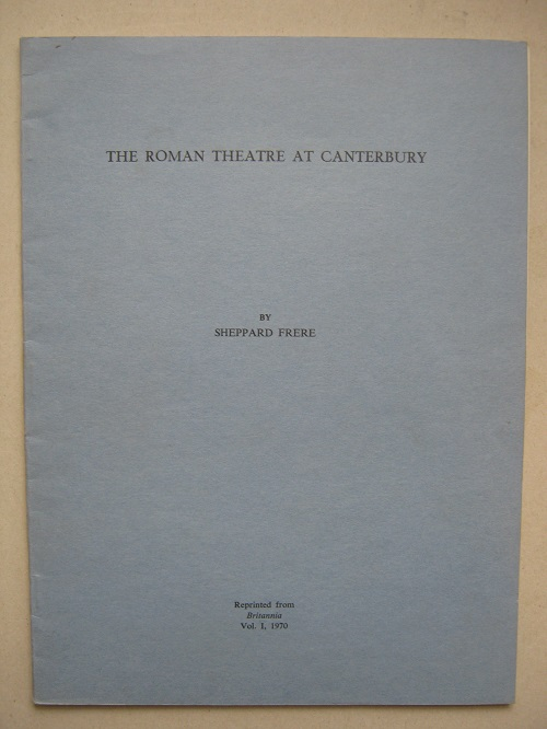 Image for The Roman theatre at Canterbury :
