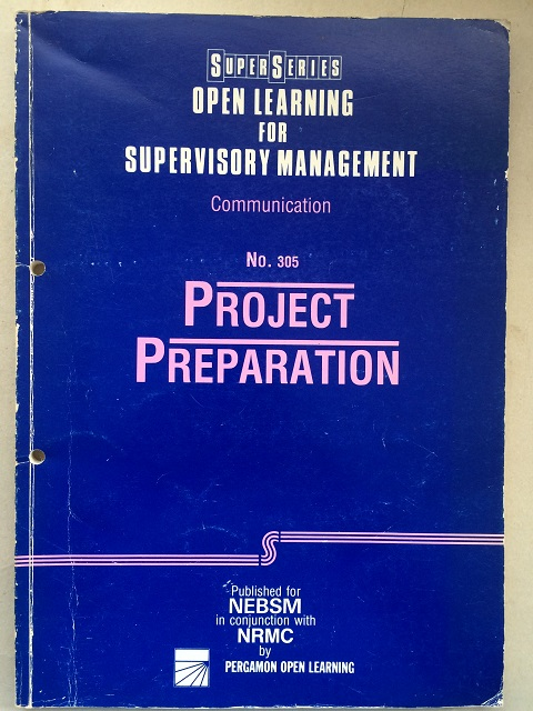 Image for Project Preparation :