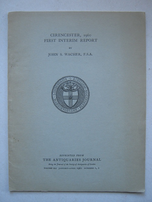Image for Cirencester, 1960: first interim report :