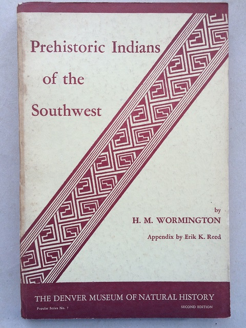 Image for Prehistoric Indians of the South West :