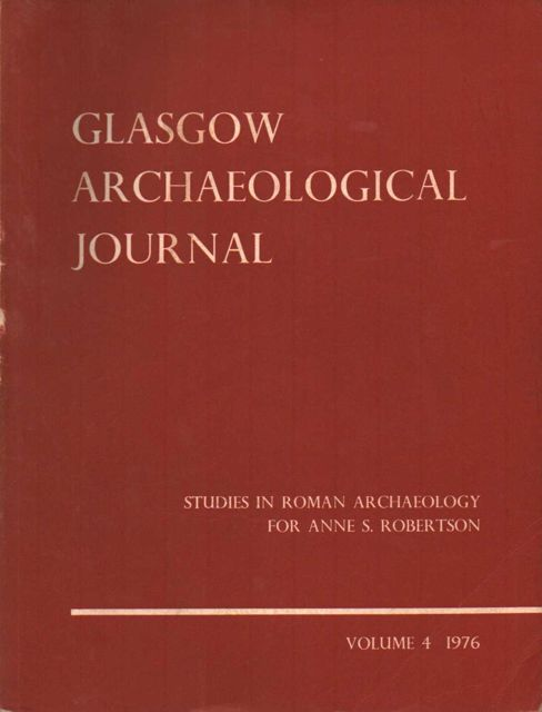 Image for Glasgow Archaeological Journal :Studies in Roman Archaeology for Anne S. Robertson