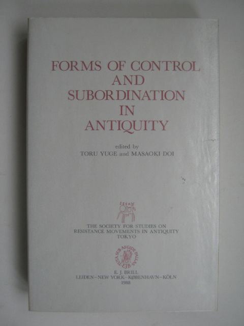 Image for Forms of Control and Subordination in Antiquity :