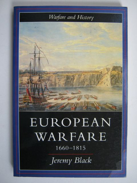 Image for EUROPEAN WARFARE 1660-1815, :