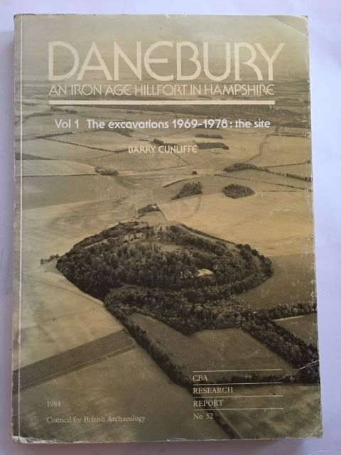 Image for DANEBURY: an Iron Age hillfort in Hampshire, Vol 1 The excavations 1969-1978: the site, (part of) CBA Research Report 52 :
