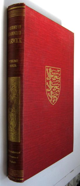 Image for THE VICTORIA HISTORY OF THE COUNTY OF WARWICK, VOLUME FOUR: Hemlingford Hundred,