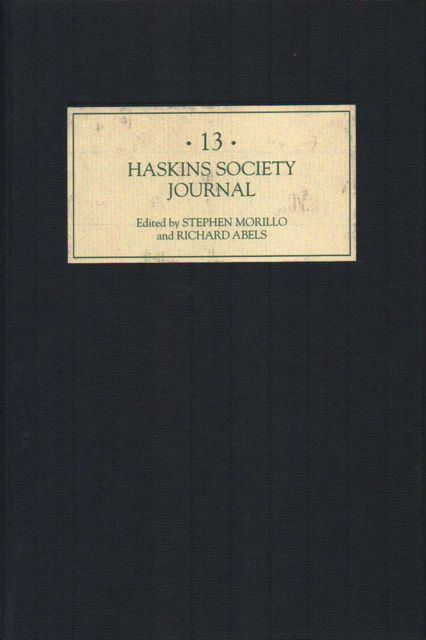 Image for HASKINS SOCIETY JOURNAL, Studies in Medieval History, Volume 13 :