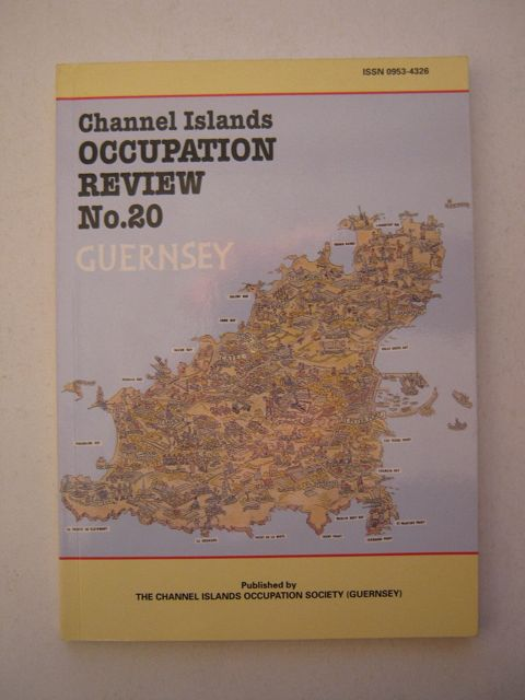 Image for CHANNEL ISLANDS OCCUPATION REVIEW NO. 20, Guernsey :