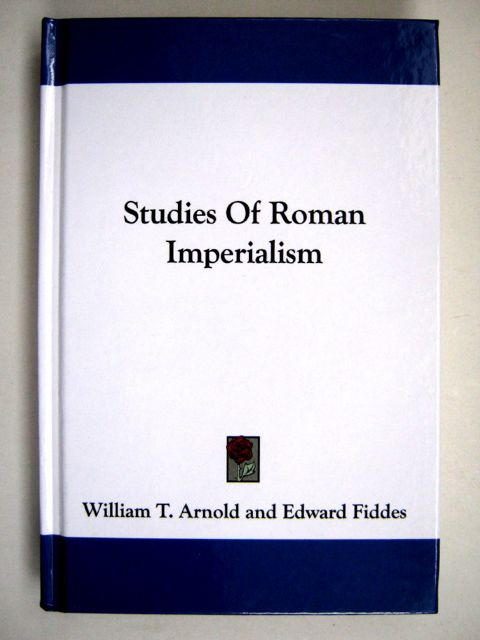 Image for STUDIES OF ROMAN IMPERIALISM, :