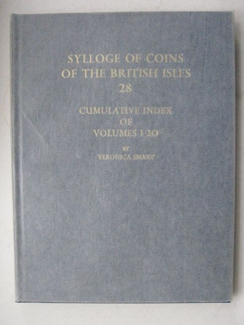 Image for Sylloge of Coins of the British Isles 28, :Cumulative Index of Volumes 1 - 20