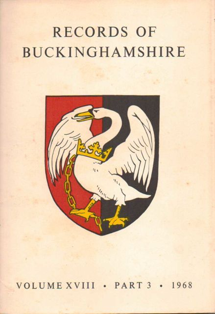 Image for RECORDS OF BUCKINHAMSHIRE, Volume XVIII, Part 3 :Being the Journal of the Architectural and Archaeological Society for the County of Buckingham