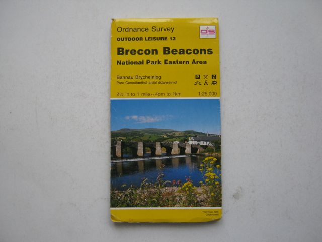 Image for Brecon Beacons: National Park Eastern Area,  :Ordnance Survey Outdoor Leisure 13, 1:25,000