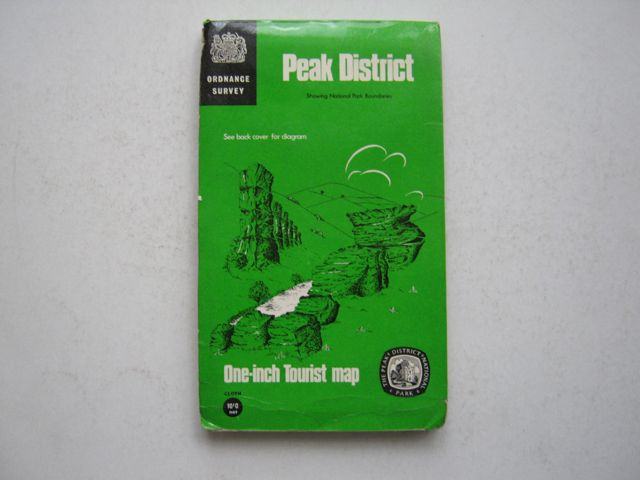 Image for Peak District, Showing National Park Boundaries, :Ordnance Survey One-Inch Tourist Map