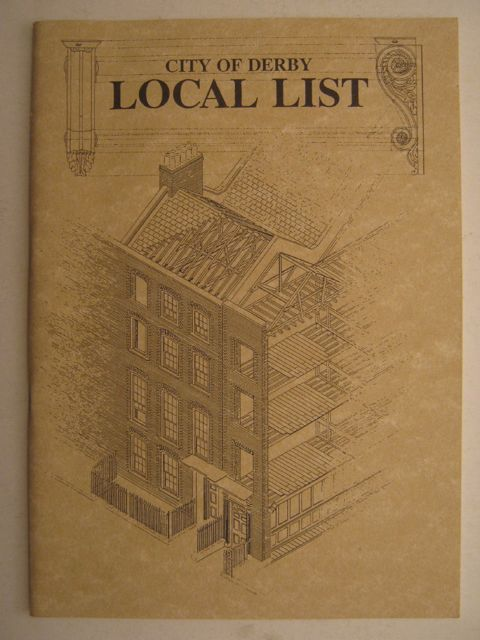 Image for City of Derby: Local List :