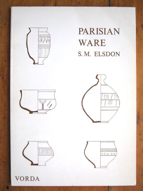 Image for Parisian Ware :A Study of Stamped Wares of the Roman Period in Lincolnshire, Humberside and South Yorkshire (VORDA Research Series 4)