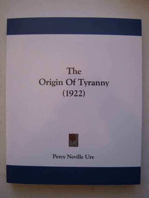 Image for The Origin of Tyranny (1922) :