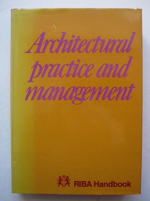 Image for Architectural practice and management :
