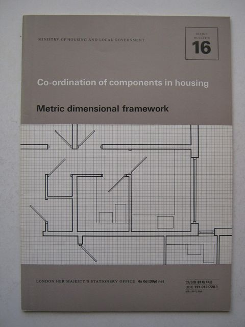 Image for Co-ordination of components in housing :Metric dimensional framework