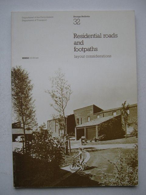 Image for Residential Roads and Footpaths :Layout Considerations