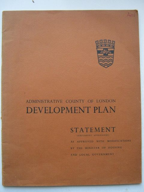 Image for Administrative County of London Development Plan, :Statement
