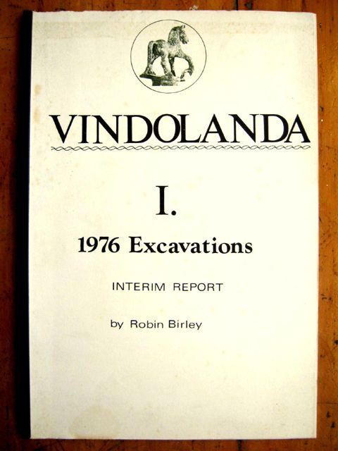Image for The 1976 Excavations at Vindolanda, Interim Report :(Vindolanda I. 1976 Excavations, Interim Report)