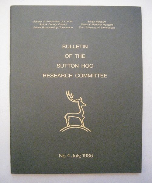 Image for Bulletin of the Sutton Hoo Research Committee