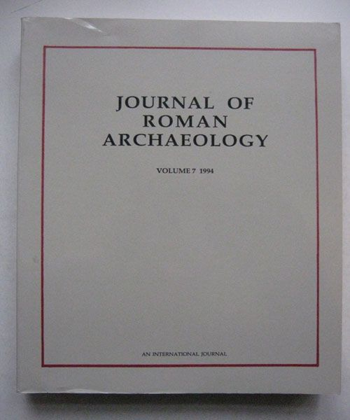 Image for Journal of Roman Archaeology, :Volume 7 1994