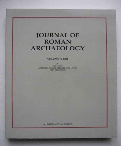 Image for Journal of Roman Archaeology, :Volume 15 2002