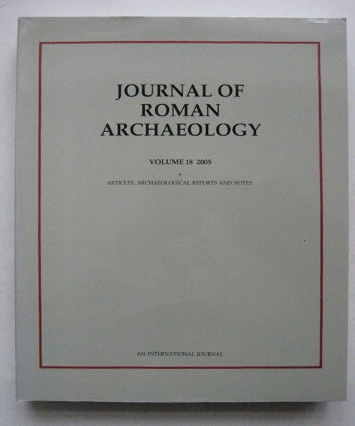 Image for Journal of Roman Archaeology :Volume 18 2005