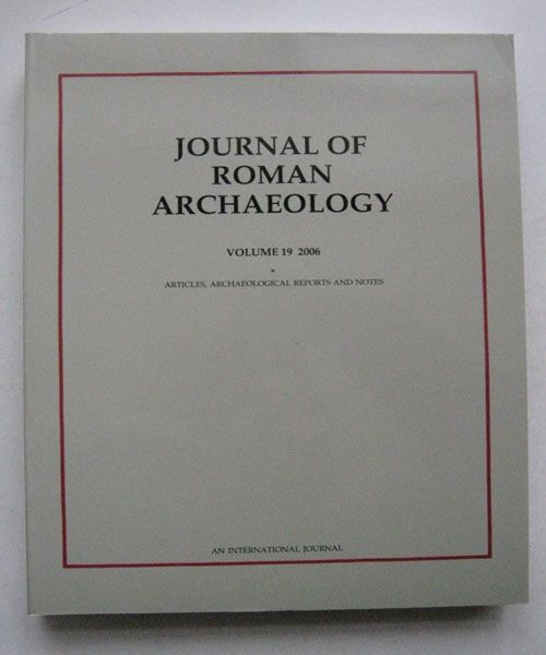 Image for Journal of Roman Archaeology :Volume 19 2006