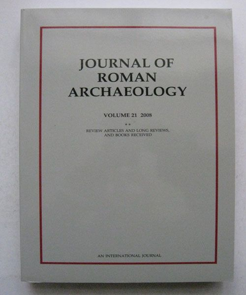 Image for Journal of Roman Archaeology :Volume 21 2008