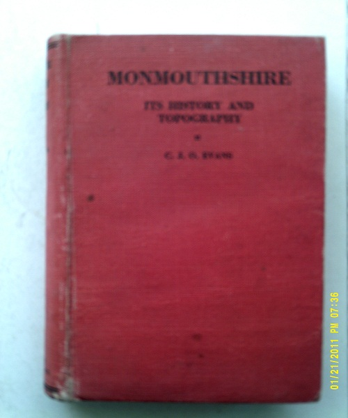 Image for Monmouthshire, :Its History and Topography