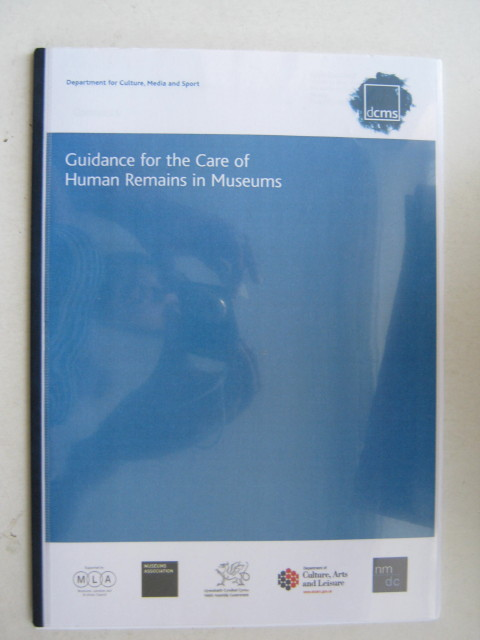 Image for Guidance for the Care of Human Remains in Museums :